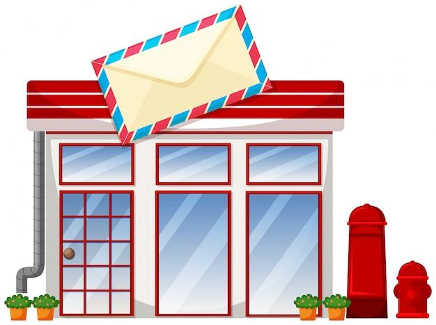 Esterno dell'ufficio postale