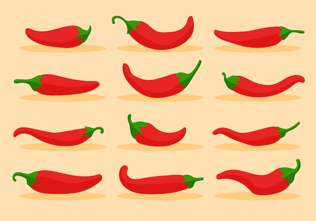 Peperoncino rosso piccante alimento piccante, salsa delicata ed extra piccante, contorno rosso peperoncino