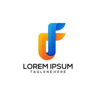 Logo f colorato