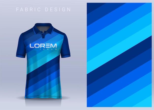 Design in tessuto per maglietta sportiva maglia da calcio per la vista frontale dell'uniforme della squadra di calcio