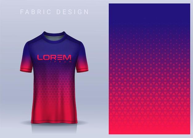 Design tessile in tessuto per tshirt maglia da calcio