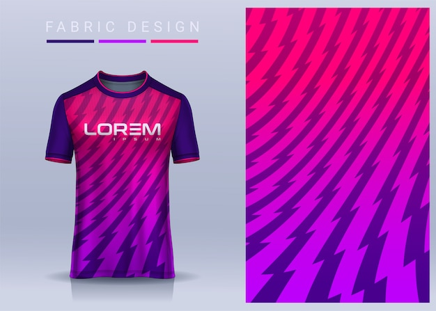 Tessuto in tessuto per maglietta sportiva modello di maglia da calcio per la vista frontale dell'uniforme della squadra di calcio