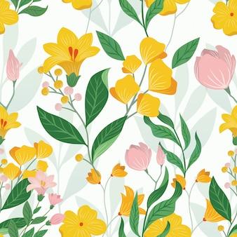 Favoloso floreale colorato senza soluzione di continuità