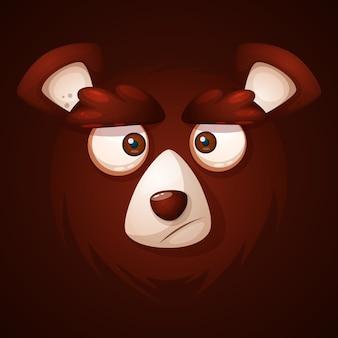 Faccia orso