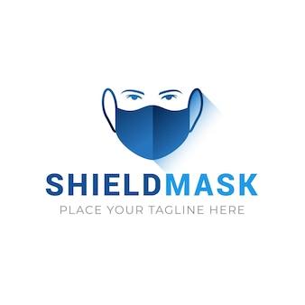 Concetto di marchio di maschera facciale