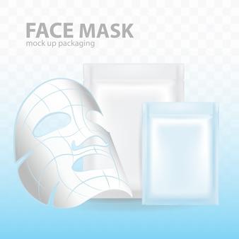 Confezione del modello di maschera facciale