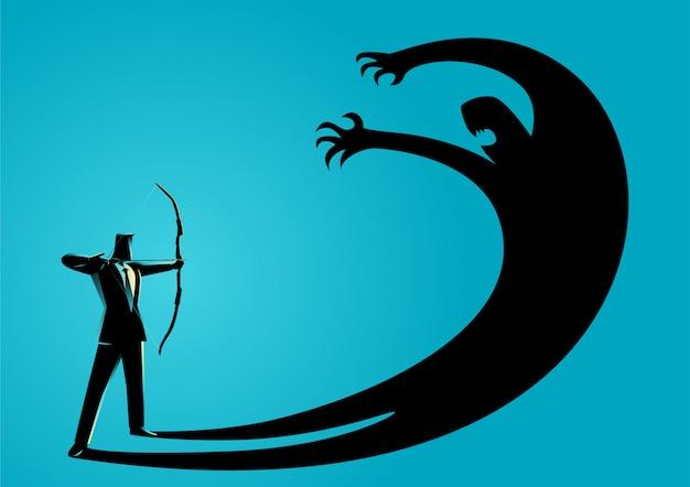 Affrontare la paura o sopprimere il proprio concetto di ego
