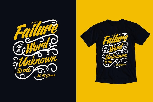 Fallimento è una parola a me sconosciuta quaideazam citazione ispiratrice