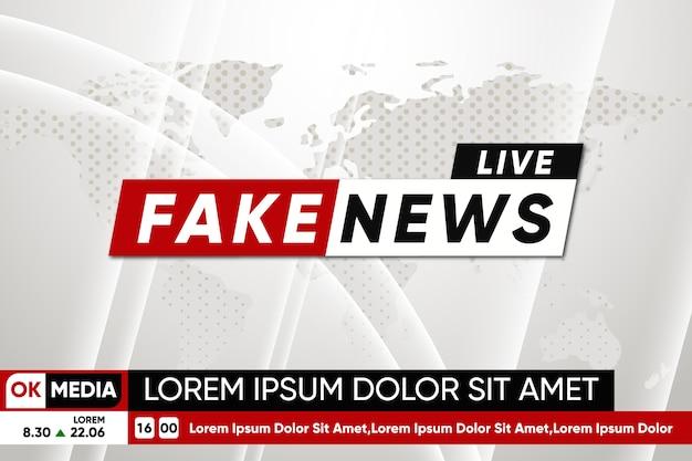 Streaming di notizie false
