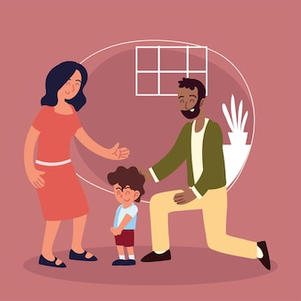 Adozioni in famiglia bambino