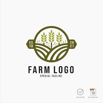 Disegno di marchio dell'azienda agricola