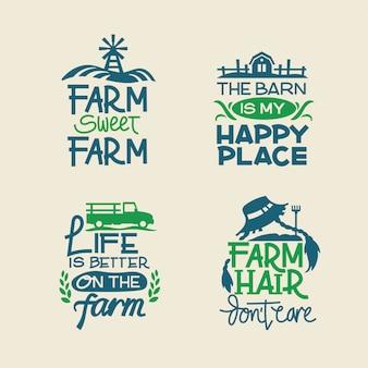 Citazione di fattoria e raccolta di detti