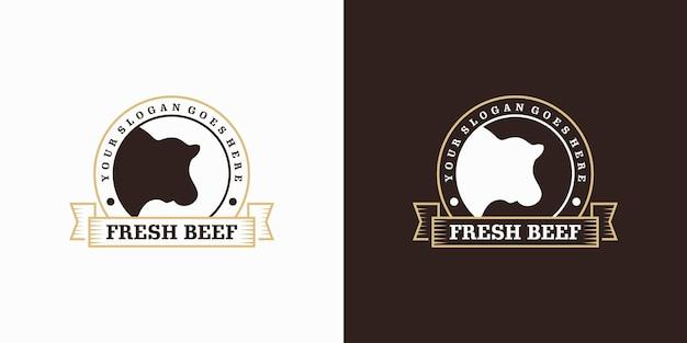 Ispirazione per il logo di fattoria e ranch
