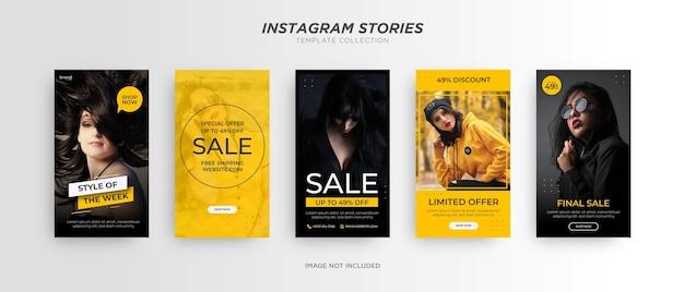 Banner di moda. promozione sui social media