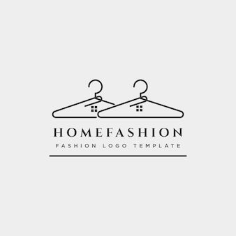 Collezione di bellezza della signora di moda in elemento di icona di illustrazione vettoriale di modello di logo di linea semplice - vettore
