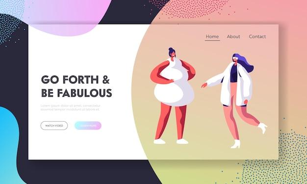 Sfilata di moda, pagina di destinazione del sito web dell'evento della passerella.