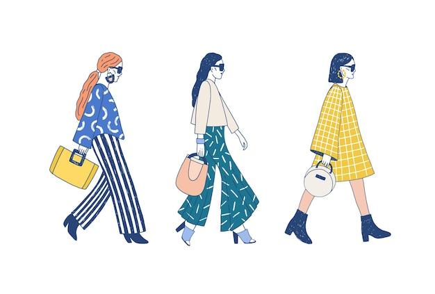 Pista della sfilata di moda
