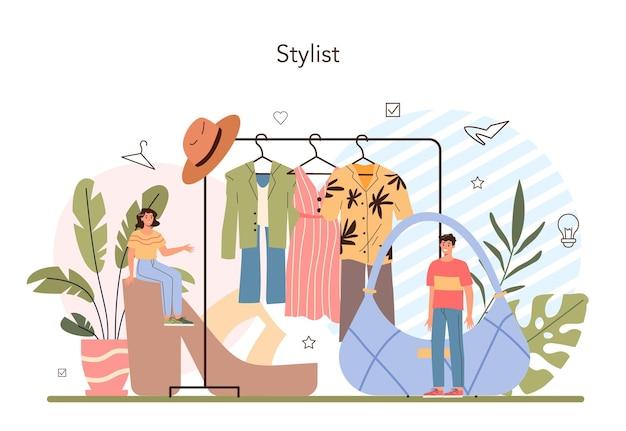 Concetto di stilista di moda