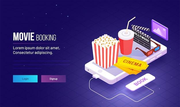 Attrezzature per fast food e sale cinematografiche