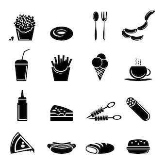 Icone di fast food