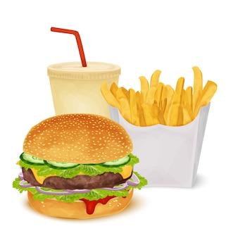 Set di fast food