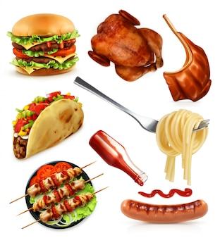Fast food, set