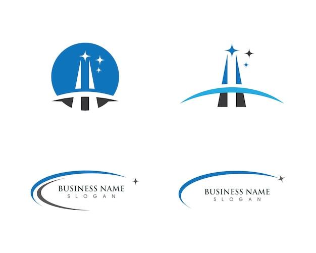 Progettazione dell'illustrazione dell'icona di vettore del modello di logo più veloce