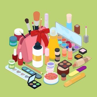 Set di cosmetici femminili