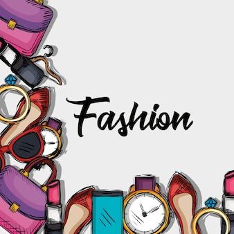 Icone di accessori moda femminile