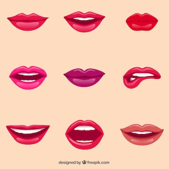 Labbra femminili