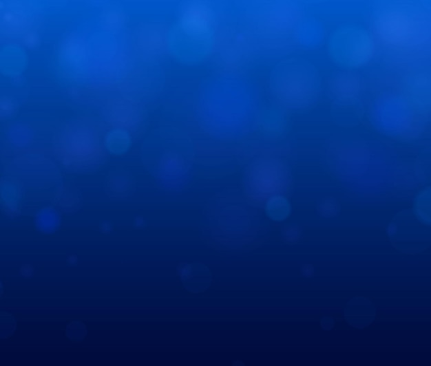 Sfondo luminoso blu festivo con luci colorate. bokeh astratto luminoso sfocato.