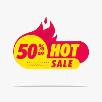 Fhot modello di etichetta per banner di vendita migliore per aumentare le vendite dei tuoi prodotti