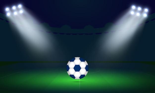 Trasmissione del tabellone segnapunti della partita di calcio delle qualificazioni della coppa del mondo fifa 2022