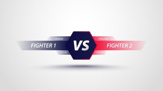 Combatti il segno della concorrenza