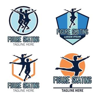 Logo pattinaggio artistico