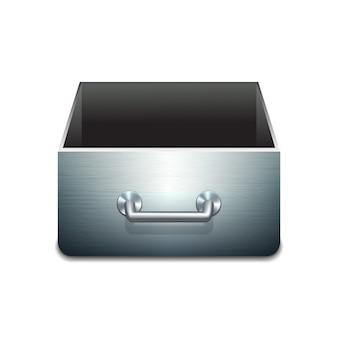Illustrazione di file cabinet