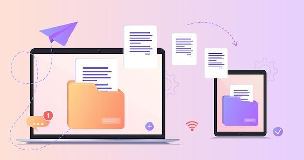 Trasferimento file file trasferiti in forma crittografata programma per connessione remota tra computer