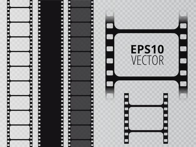Striscia di pellicola. reel tape