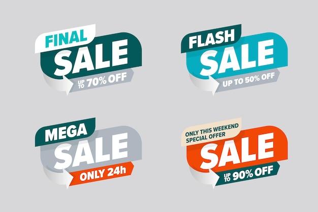 Modello di vendita mega flash finale