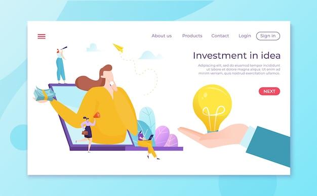 Decisione finanziaria sull'idea di investire