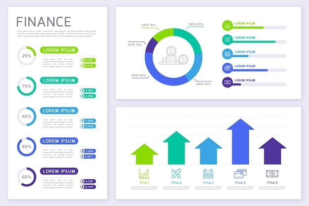Infografica di finanza
