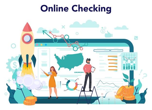 Piattaforma o servizio online di analista o consulente finanziario