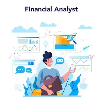 Analista o consulente finanziario