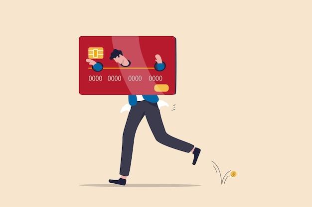 Fallimento finanziario o concetto di costi e spese eccessivi