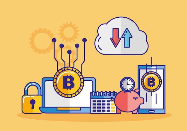 Tecnologia finanziaria con dispositivi elettronici
