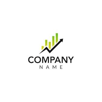 Logo vettoriale finanziario