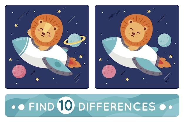 Trova 10 differenze