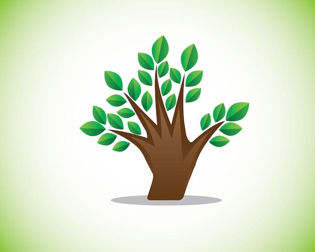 Illustrazione dell'albero di barretta Vettore Premium