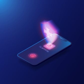 Modello di scanner di impronte digitali