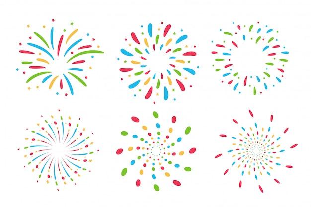 Collezione di fuochi d'artificio